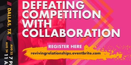 Reviving Relationships Initiative tickets