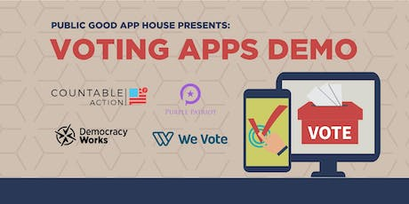 Public Good App House - Voting Apps Demo - Online Event tickets