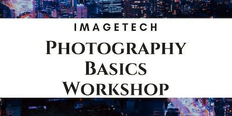 Imagetech Photography Workshop - Basics tickets