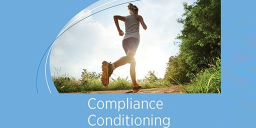 Join us for Compliance Conditioning!