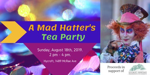 A Mad Hatter's Tea Party