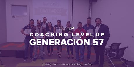 Coaching Level Up - Generación 57 entradas