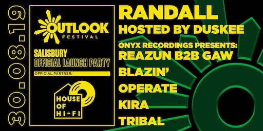 House of Hi-Fi presents: Outlook Launch Party Salisbury 2019