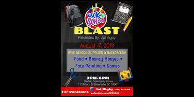 FREE - Back to School Blast