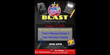 FREE - Back to School Blast tickets