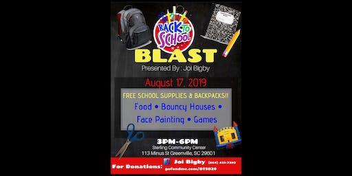 FREE - Back to School Blast