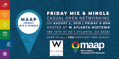 MAAP: It's Friday - Mix, Mingle & Network tickets