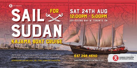 Sail for Sudan tickets