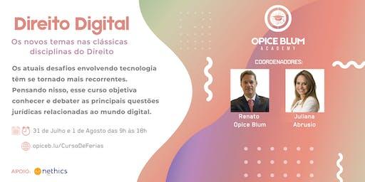 Direito Digital: os novos temas, nas clássicas disciplinas do Direito