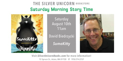 Saturday Morning Storytime: David Biedrzycki