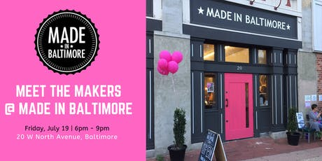 @ARTSCAPE Meet The Makers of Made In Baltimore  tickets