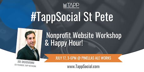 #TappSocial St. Pete: Nonprofit Website Workshop and Happy Hour tickets