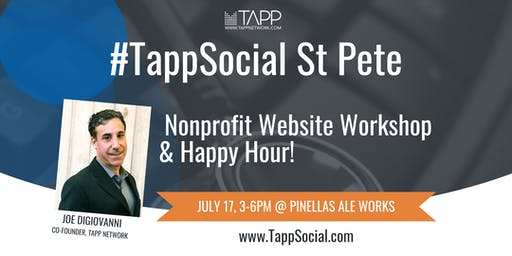 #TappSocial St. Pete: Nonprofit Website Workshop and Happy Hour