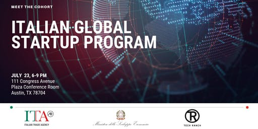 Meet the Cohort - Italian Global Startup Program