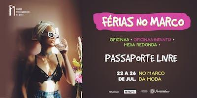 FÉRIAS NO MARCO [Passaporte Livre]