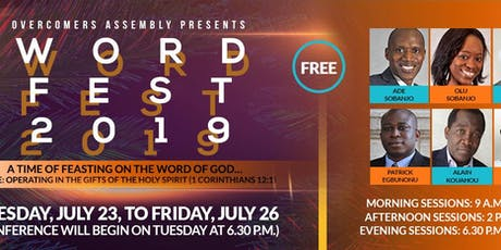 Word Fest Conference 2019 tickets