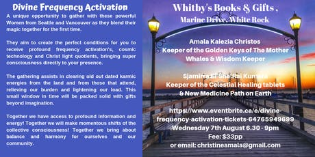 Divine Frequency Activation tickets