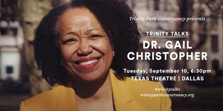 Trinity Talks, featuring Dr. Gail Christopher tickets