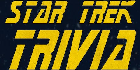 STAR TREK Trivia Night at Flying Saucer tickets