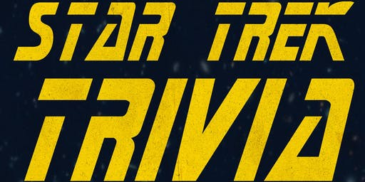 STAR TREK Trivia Night at Flying Saucer