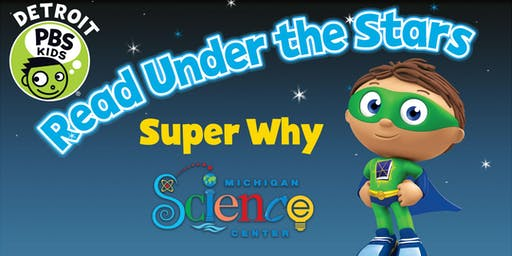 Read Under the Stars with Super Why