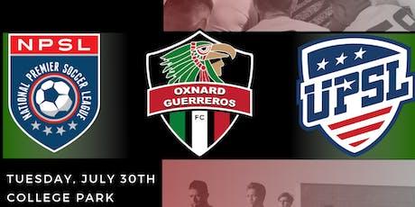 Oxnard Guerreros Summer 2019 Open Tryouts tickets