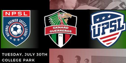Oxnard Guerreros Summer 2019 Open Tryouts
