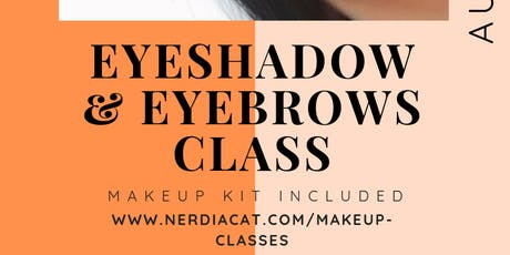 Eyeshadow and Eyebrows Class tickets