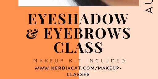 Eyeshadow and Eyebrows Class
