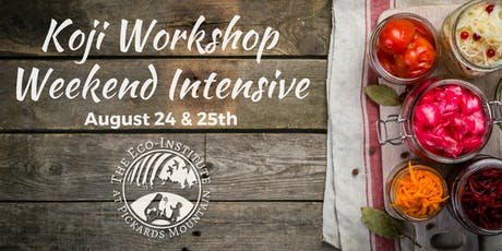 Koji Workshop Weekend Intensive tickets