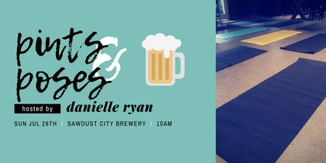 Pints & Poses at Sawdust City Brewery tickets