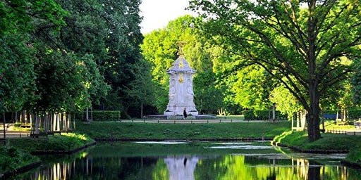 MindTravel SilentWalk in Berlin through Tiergarten