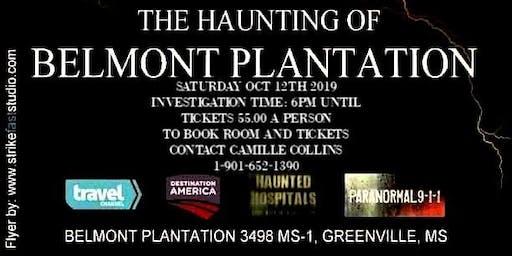 The Haunting of Belmont Plantation