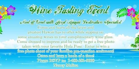 Hawaii Wine Tasting Event  tickets