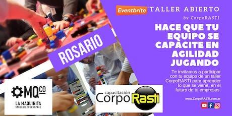 Taller OPEN Mindset AGILE by CorpoRASTI en ROSARIO! entradas
