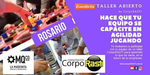 Taller OPEN Mindset AGILE by CorpoRASTI en ROSARIO!