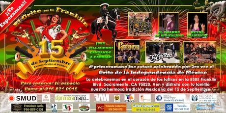 El Grito en la Franklin , celebra la independencia de México tickets