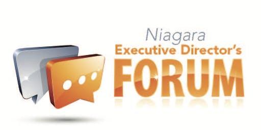 Niagara Executive Director's Forum