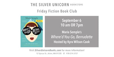 Friday Fiction Book Club: Where'd You Go, Bernadette