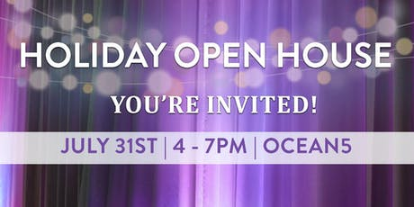 Ocean5 Open House - Time Travel through the Holidays tickets