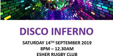 Disco Inferno 70s, 80s, 90s 14th Sept 2019 tickets