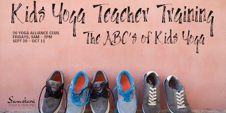 Kids Yoga Teacher Training | The ABCs of Kids Yoga tickets