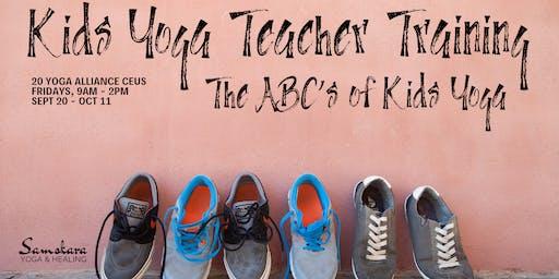 Kids Yoga Teacher Training   The ABCs of Kids Yoga