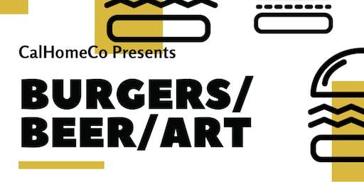 Burgers|Beers|Art