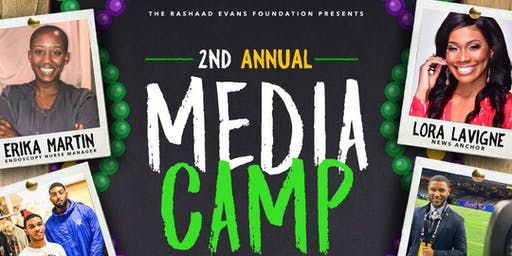 The Second Annual Rashaad Evans Foundation Media Camp