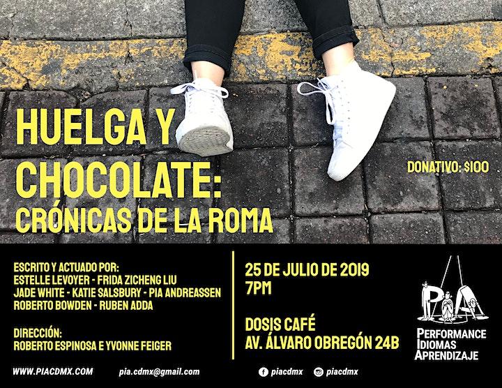 Huelga y Chocolate: Crónicas de la Roma image