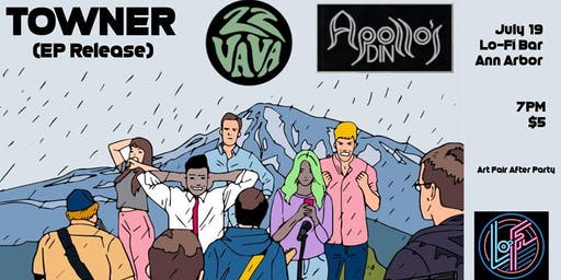 Towner EP release show