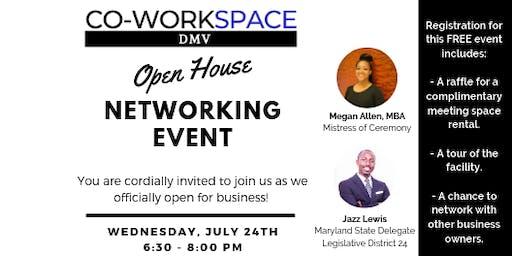 Co-WorkSpace DMV Open House