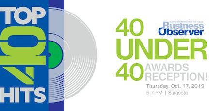2019 Business Observer 40 Under 40 Awards tickets