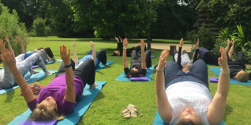 Yoga at Glorious Gibside